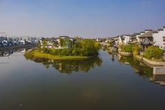 Ville antique de kuizi de Wuhu Photographie stock libre de droits