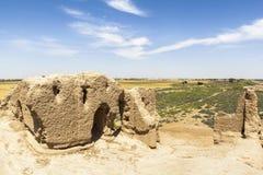 Ville antique de Merv au Turkménistan images libres de droits