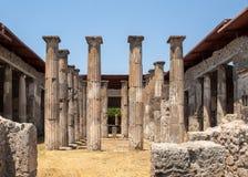 Ville antique de Pompeii, Italie photo stock