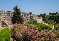 Ville antique de Pompeii, Italie photos stock