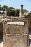 Ville antique de Pompeii, Italie images stock