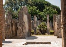 Ville antique de Pompeii, Italie photographie stock libre de droits