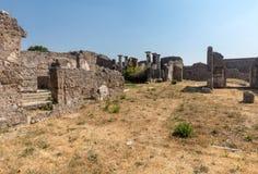 Ville antique de Pompeii, Italie photographie stock