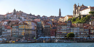 Ville antique de Porto de panorama Image stock
