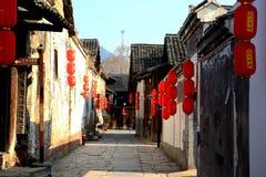 Ville antique de Qianyang en Chine Photo stock