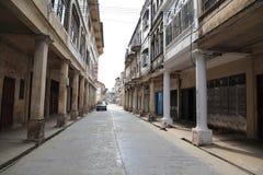 Ville antique de Songkou dans la porcelaine Photos libres de droits