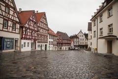 Ville antique de Trochtelfingen en Allemagne du sud Photo stock