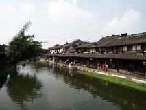 Ville antique de Xitang Image libre de droits