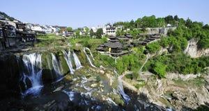 Ville antique des sud du fleuve Yangtze Photographie stock