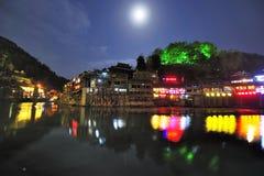 Ville antique des sud du fleuve Yangtze Photographie stock libre de droits