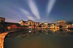 Ville antique des sud du fleuve Yangtze Images libres de droits