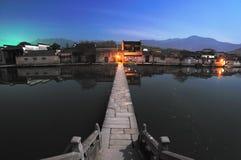 Ville antique des sud du fleuve Yangtze Image libre de droits