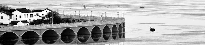 Ville antique des sud du fleuve Yangtze Photos libres de droits