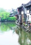 Ville antique des sud du fleuve Yangtze Photo stock