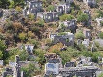 Ville antique Karakoy photos libres de droits