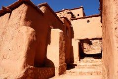 ville Arabe du Maroc de benhaddou d'AIT images stock