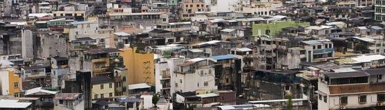 Ville asiatique surchargée Images stock