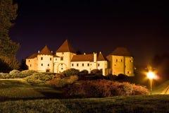 Ville baroque de vieille citadelle de Varazdin Images stock