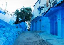Ville bleue Chefchaouen, Maroc, Afrique Images stock