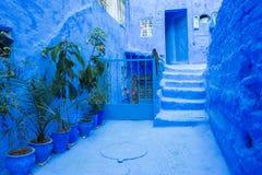 Ville bleue Chefchaouen, Maroc, Afrique Photos libres de droits