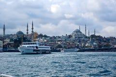 Ville bleue Istanbul Bosphorus image libre de droits