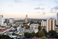 Ville Brésil de Sao Paulo images libres de droits