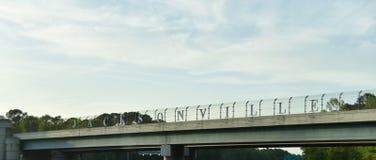 Ville côtière de Jacksonville la Floride images libres de droits