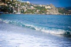 Ville côtière marine Images libres de droits