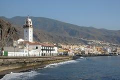 Ville Candelaria. Tenerife, Espagne Images libres de droits