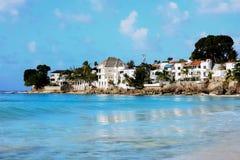 Ville caraibiche Fotografie Stock Libere da Diritti