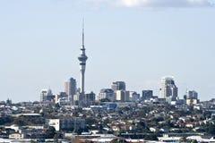 Ville CBD d'Auckland Photos stock