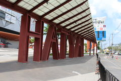 Ville centrale de Hatyai de festival Photo stock