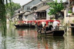 Ville Changhaï Chine de Fengjing Photo stock