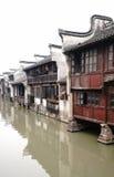 Ville chinoise de l'eau Photo stock