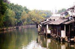 Ville chinoise de l'eau Photographie stock libre de droits