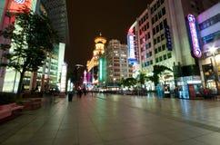 Ville éclatante de Changhaï Photo libre de droits