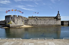 Ville Close of Concarneau in France Royalty Free Stock Photos