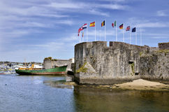 Ville Close of Concarneau in France Stock Photography