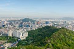 Ville Corée du Sud de Séoul Photographie stock libre de droits