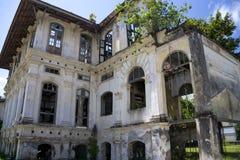 ville délabrée de construction d'héritage de george photographie stock