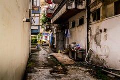 Ville d'été sous la pluie Photographie stock libre de droits