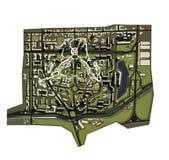 ville 3D Image stock