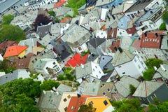 Ville d'Aalesund Photographie stock
