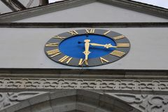 Ville d'Aarburg en Suisse Photographie stock