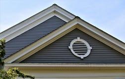 Ville d'accord, le comté de Middlesex, le Massachusetts, Etats-Unis Architecture photo stock