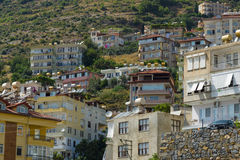 Ville d'Alanya Images stock