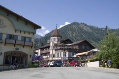 Ville d'Allemand de Leavenworth Image libre de droits