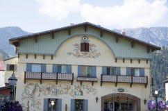 Ville d'Allemand de Leavenworth Photos stock