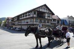 Ville d'Allemand de Leavenworth Images stock