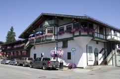 Ville d'Allemand de Leavenworth Image stock